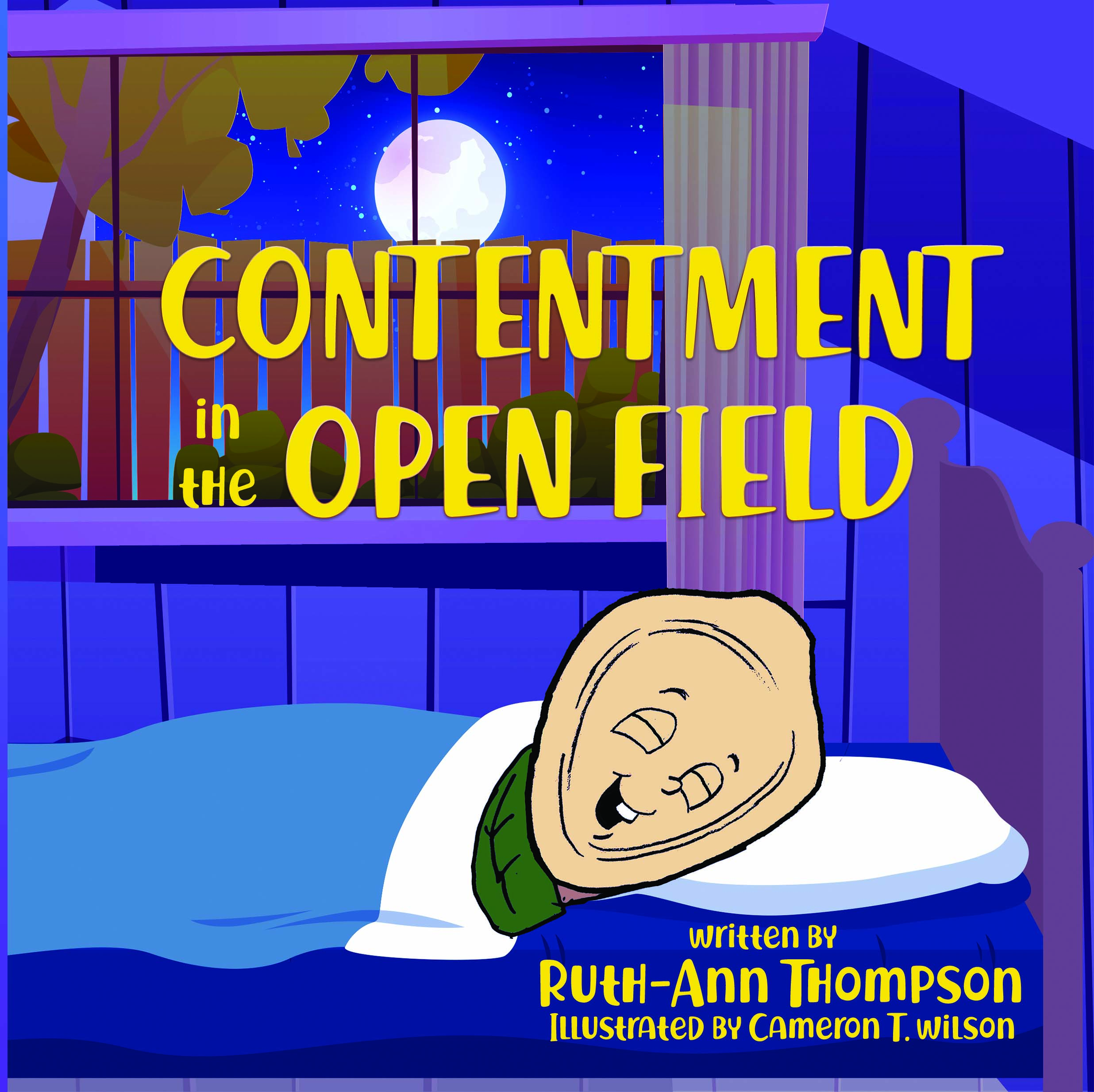 Contentment in the Open Field by Ruth-Ann Thompson